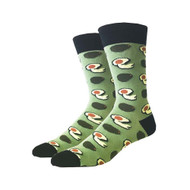 Avocado One Size Fits Most Crew Socks