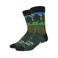Barbecue Bigfoot One Size Fits Most Crew Socks