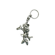 Minnie Mouse Pewter Key Chain