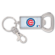 Chicago Cubs Bottle Opener Metal Keychain (WC)