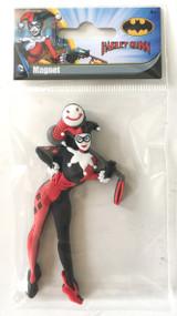 Harley Quinn Soft Touch PVC Magnet