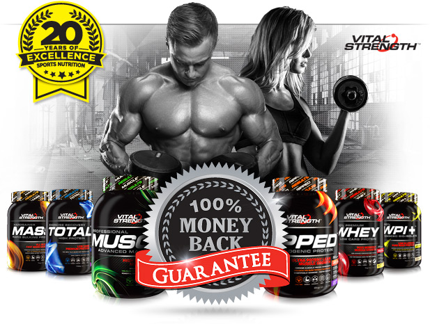 100% GUARANTEE TRUSTED FOR QUALITY, PERFORMANCE & TASTE