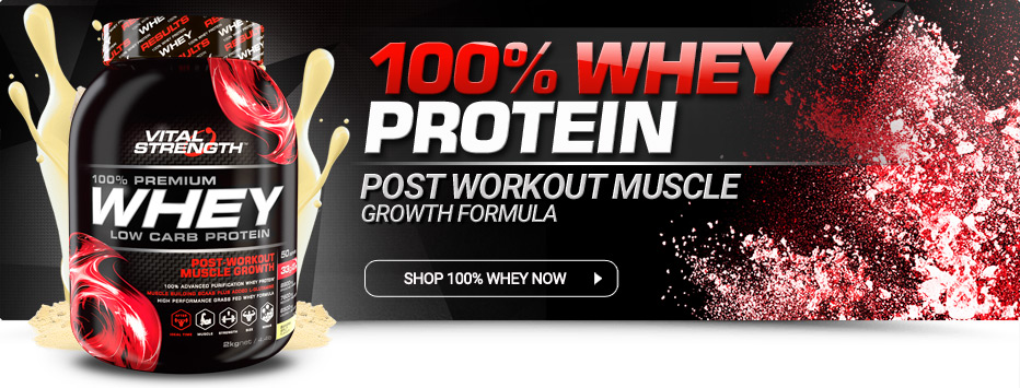 Buy 100% Whey Protein Powder Online