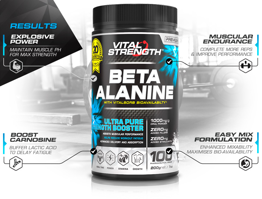 Best Beta Alanine Powder