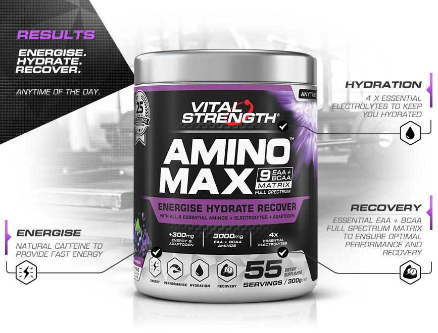 Amino Max Energy