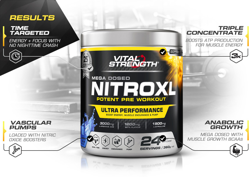 Buy Nitroxl Pre Workout