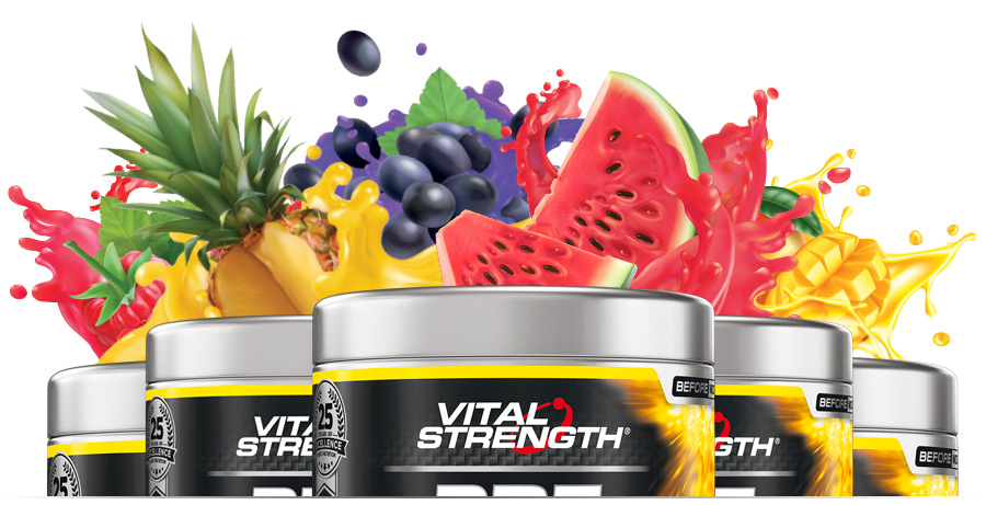 Pre Workout 225g Flavours