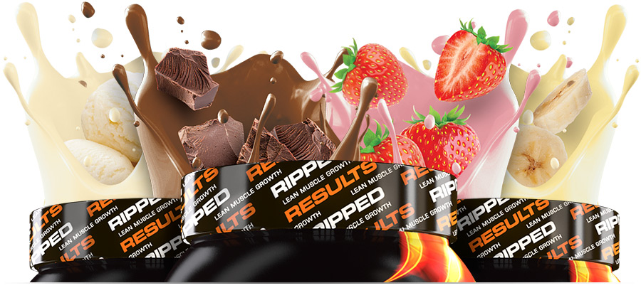 Vitalstrength Hydroxy Ripped Protein Flavours