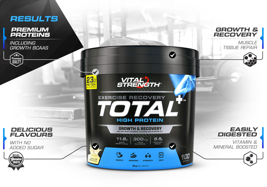 Total Protein Powder Features