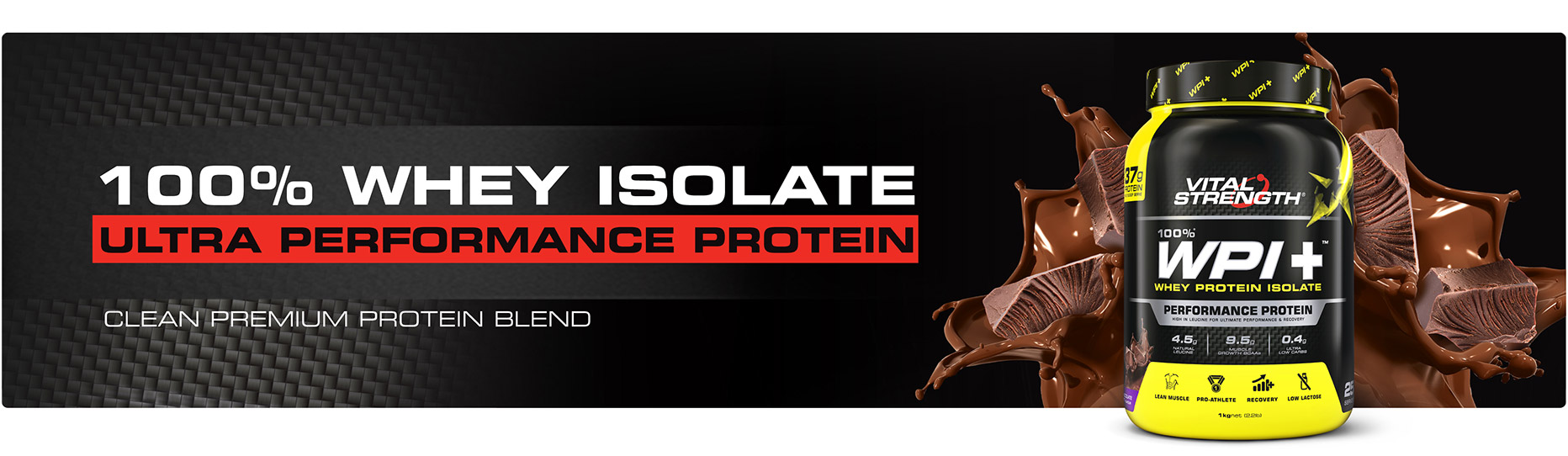 Buy Whey Protein Isolate WPI+