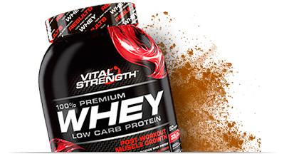 100% Whey Protein Powder Nutrition