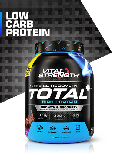 Total High Protein Powder Plus 1.5kg | Vitalstrength
