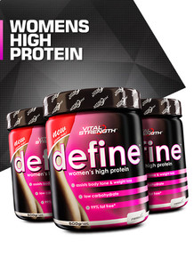 define womens high protein powder 500g