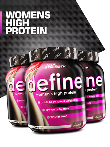 Define Womens High Protein Powder 1kg