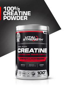 100% Creatine Powder 450g