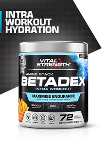 Amino Betadex Intra Workout Stack 360g