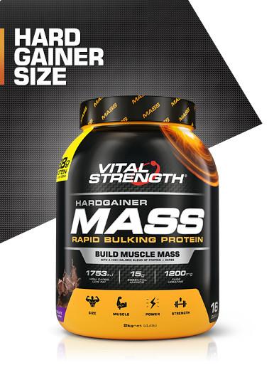 Hardgainer Mass Bulking Protein Powder 2kg