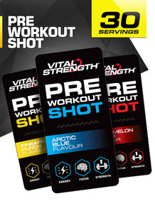 Pre Workout Shots - 30 Pack