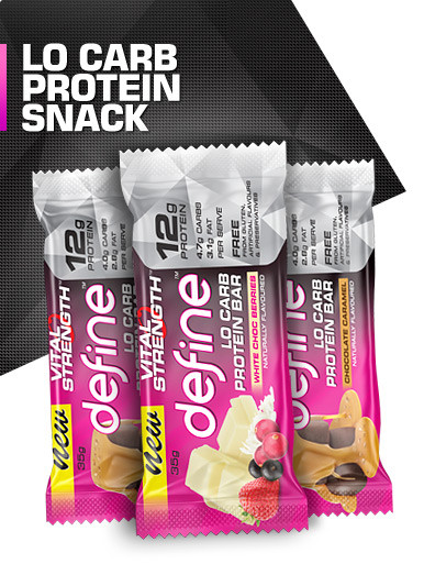 Define Lo Carb Protein Bar