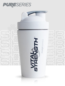 Pure Series Protein Shaker 500mL - White