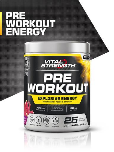 Pre Workout 225g