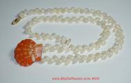 "20"" Niihau shell necklace  ニイハウ シェルレイ #301"