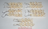 Set of 5 Momi shell earrings