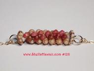 """15"""" Kahelelani two strand twisted necklace #128"""