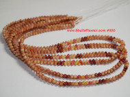 Made to order!  triple strands Kahelelani shell necklace #850