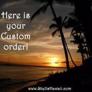 Custom order for Angela!