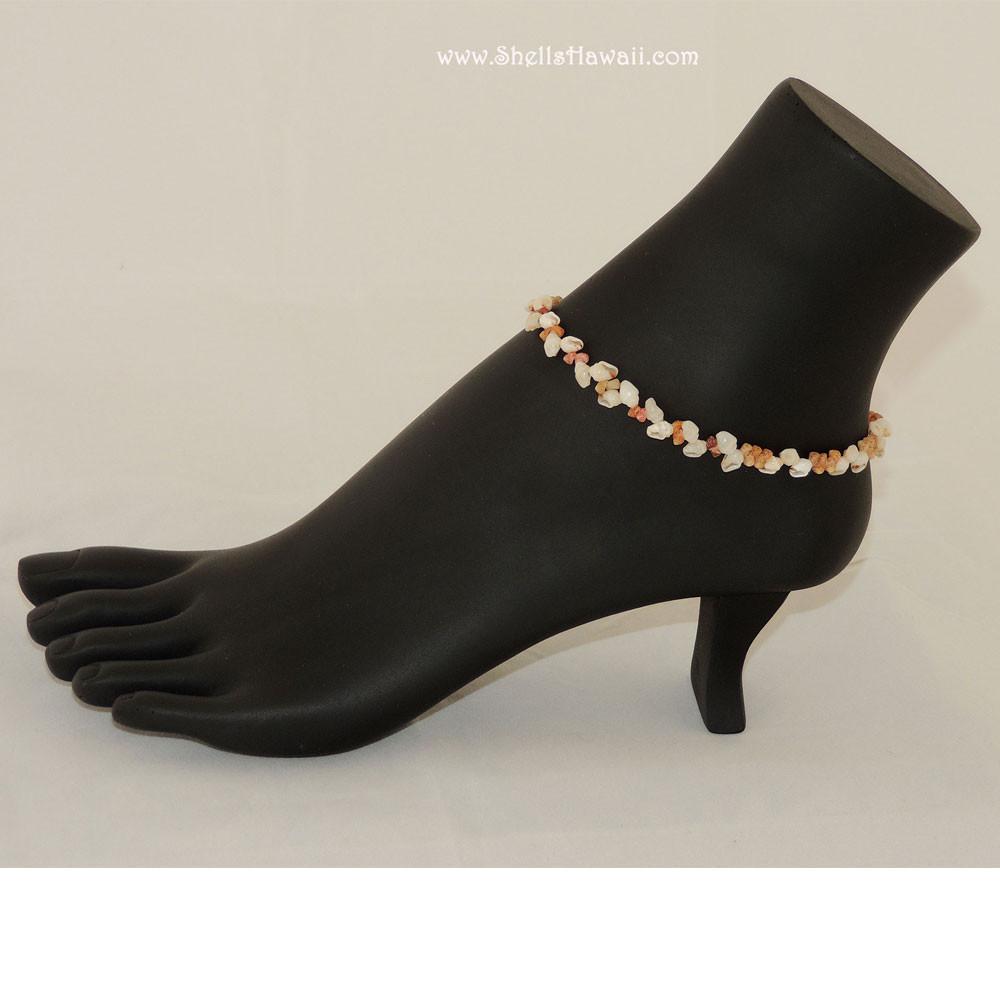 Momi & Kahelelani Shell Anklet