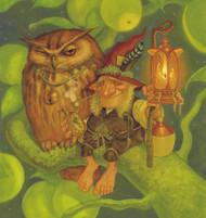 Auld Goggie Card