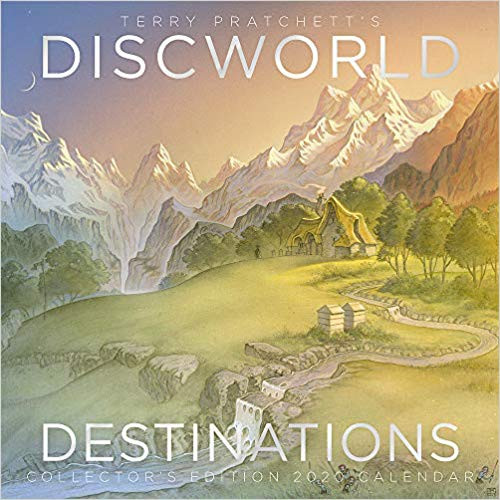 Terry Pratchett's Discworld Destinations, 2020 Collector's Calendar