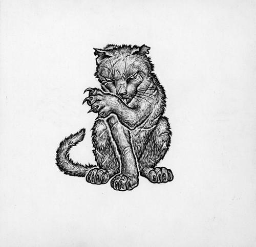 Greebo – Early concept art