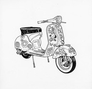 Madame Tracy's Moped