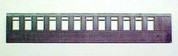HOn3 MRGS Narrow gauge Passenger car 12 window side