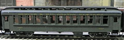 Built-up (3323) as 327 in San Juan service.