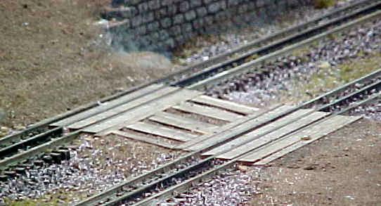 Gargraves Grade Crossing O 3-rail Straight track