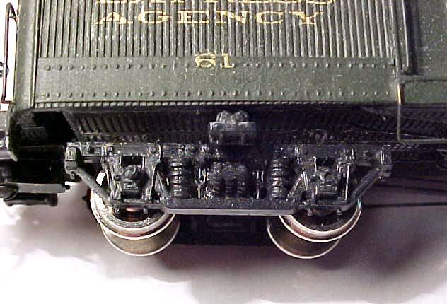 HOn3 4pk D&RGW Passenger Car Trucks 5'0