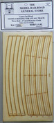 """Atlas O 3 rail 27"""" Railroad Crossing for curved sectional track"""