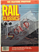 Rail Classics Magazine March 1982 SOLD