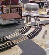 "#9116R Railroad Grade Crossing RAMP for Lionel O Fastrack 3-rail 60""D curved FasTrack track"