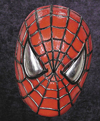 Spider Man Halloween Costume Adults.Adult Soft Vinyl Deluxe Spider Man Spiderman Halloween Costume Mask