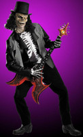 Adult Cryptic Rocker Rock n Roll Heavy Metal Music Band Halloween Costume