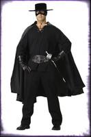 Adult Deluxe Quality Gothic Bandido Zoro Bandit Maskedb Man Halloween Costume