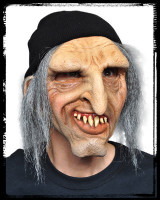 Adult Scurvey Rugged Deck Hand w/ attached Toboggan Halloween Costume Mask