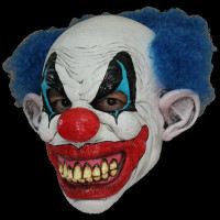 Freaky Circus Puddles Clown Insane Evil Serial Killer Halloween Costume Mask