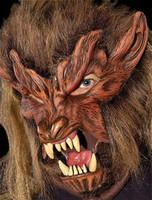 Wolfman Werewolf Lone Wolf Halloween Costume Mask
