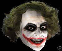 Deluxe Batman Dark Knight The Joker DC Comins Halloween Costume Mask
