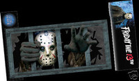 Wall Scene Setter Jason Friday the 13th Halloween Prop